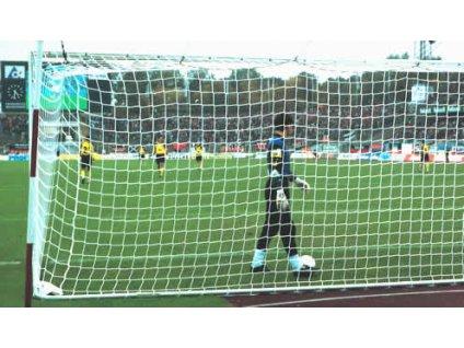 Fotbalová branková síť 5 mm, polypropylen (BARVA Zelená)