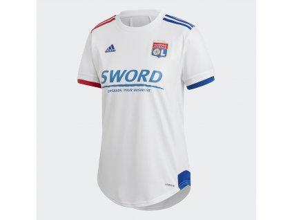 Dámsky dres adidas Olympique Lyon 2020/21 domáce (Velikost 2XL)