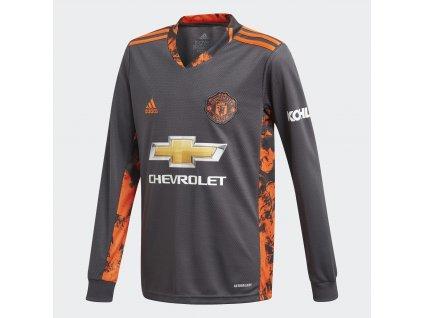 Dětský brankářský dres adidas Manchester United FC 2020/21 domácí (Velikost 128)