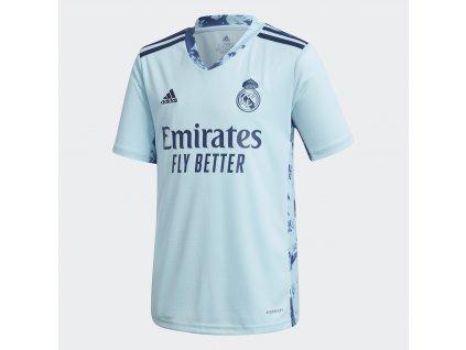 Dětský brankářský dres adidas Real Madrid CF 2020/21 domácí (Velikost 128)