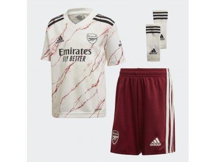 Dětský mini komplet adidas Arsenal FC 2020/21 venkovní (Velikost 104)