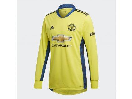 Pánský brankářský dres adidas Manchester United FC 2020/21 venkovní (Velikost 2XL)
