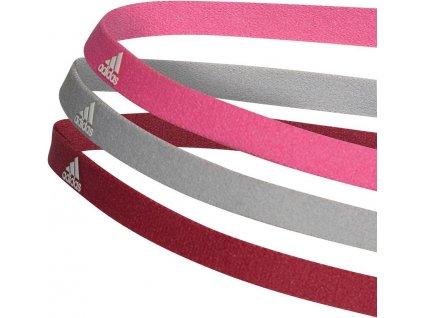 Čelenka adidas hairband 3pack (Velikost OSFM)