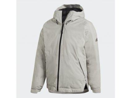 Pánská bunda adidas Traveer Insulated RAIN.RDY (Velikost 2XL)