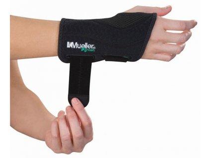 Ortéza na zápěstí Mueller® Green, Fitted Wrist Brace (Velikost S/M Pravá)