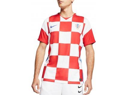 Tričko Nike Chorvatsko Breathe Stadium 2020 Home (Velikost 3XL)