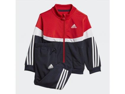 Dětská sportovní souprava adidas Shiny Badge of Sport 3-Stripes (Velikost 104)