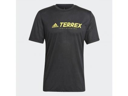 Pánské triko adidas Terrex Primeblue Trail Functional Logo (Velikost 2XL)
