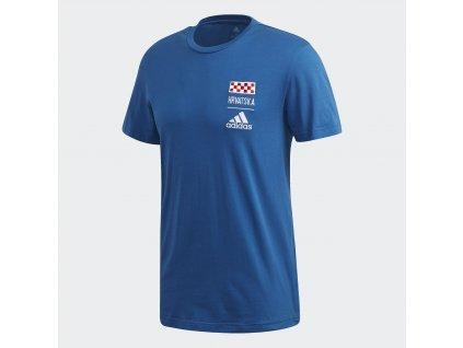 Pánské triko adidas Chorvatsko (Velikost 2XL)