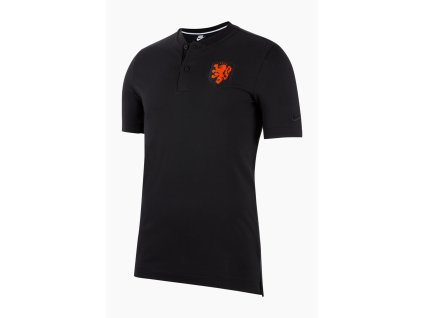 Pánské polo triko Nike Holandsko NSW Modern (Velikost L)
