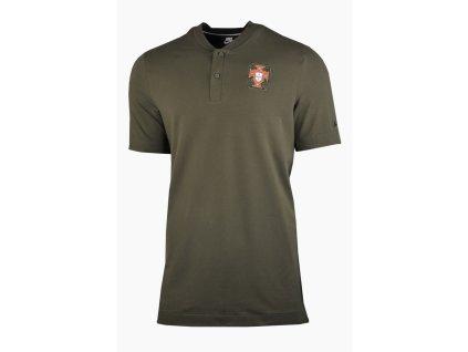 Pánské polo triko Nike Portugalsko NSW 2020/21 (Velikost L)