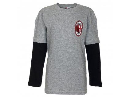 Dětské triko AC Milán Long (Velikost 9-10 let)