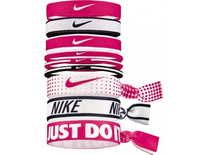 1242145 gumicky nike mixed ponytail holders 9 pack