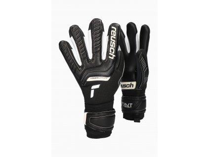 Dětské brankářské rukavice Reusch Attrakt Infinity Finger Support (Velikost 5)
