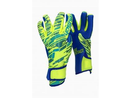 Dětské brankářské rukavice Reusch Pure Contact Silver (Velikost 5)