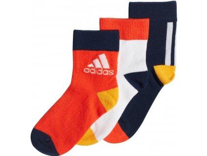 Dětské ponožky adidas Ankle (3 páry) (Velikost 37-39)
