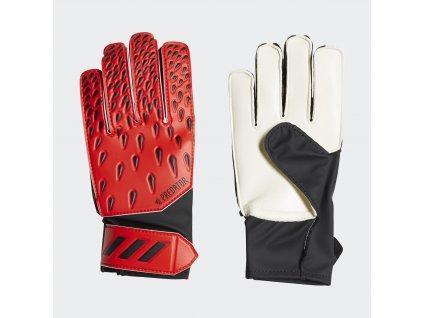 Dětské brankářské rukavice adidas Predator Training (Velikost 4)