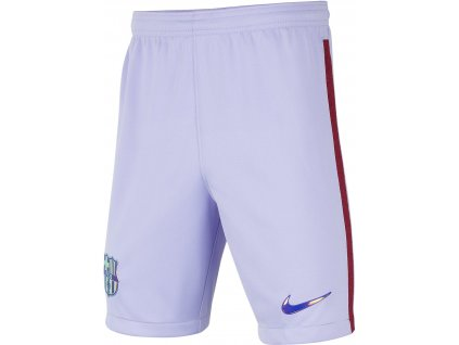 Dětské trenky Nike FC Barcelona 2021/22 Stadium venkovní (Velikost S)