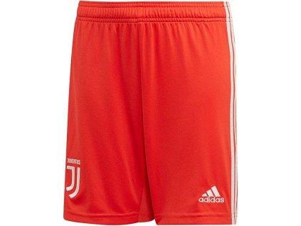 Trenky adidas Juventus FC 2019/20 venkovní (BARVA Červená, Velikost 2XL, Délka nohavice šortky)