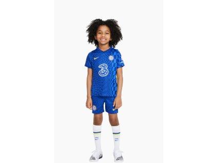 Komplet pro malé děti Nike Chelsea FC 2021/22 domácí (3-8 let) (Velikost 122)