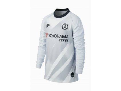Detský brankársky dres Nike Chelsea FC 19/20 Stadium Champions League domáci (Velikost L)