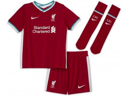 Detský komplet Nike Liverpool FC 2020/21 domáce (Velikost L)