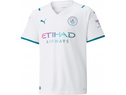 Dětský dres Puma Manchester City Replica 2021/22 venkovní (Velikost 116)