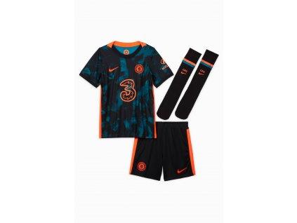 Dětský komplet Nike Chelsea FC 3rd 2021/22 venkovní (3-8 let) (Velikost 122)