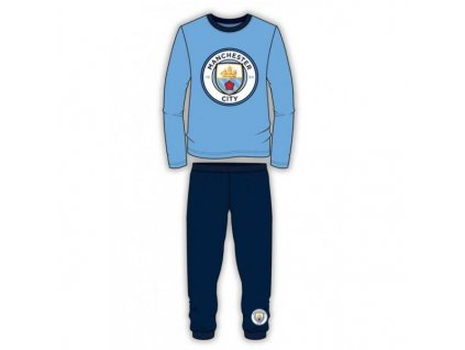 Detské pyžamo Manchester City FC Crest (Velikost 4-5 let)