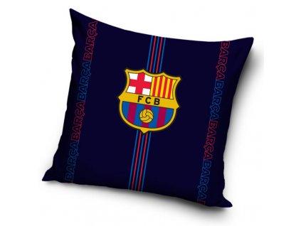 1326052 povlak na polstarek fc barcelona darkness 40x40 cm