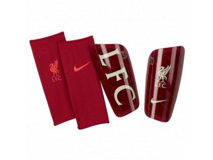 Chrániče Nike Liverpool FC Mercurial Lite 21/22 (Velikost L)