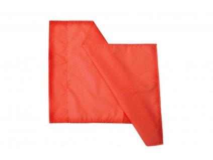 Látka pre rohový zástavku priemer 30 mm, 60x40 cm - oranžová (BARVA Oranžová)