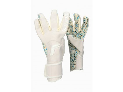 Brankářské rukavice Reusch Pure Contact Totalwhite Fusion (Velikost 8)