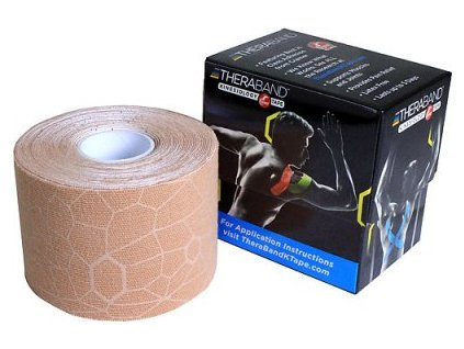 1333660 kinesiologicky tape theraband kinesiology tape 5cm x 5m