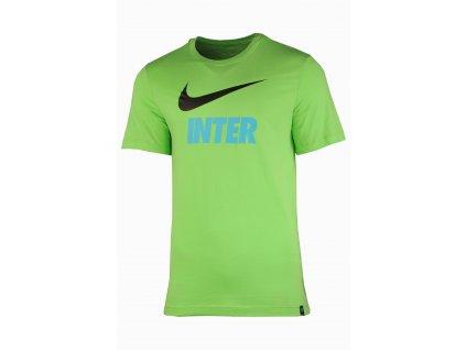 Pánské triko Nike Inter Milan 21/22 Swoosh Club Tee (Velikost L)