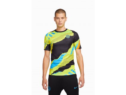 Pánský předzápasový dres Nike Inter Milan 21/22 Breathe (Velikost L)