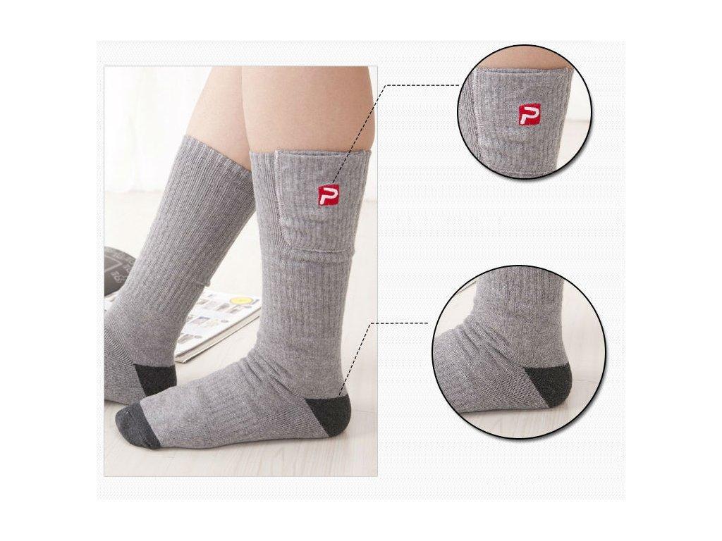 vyhřívané ponožky