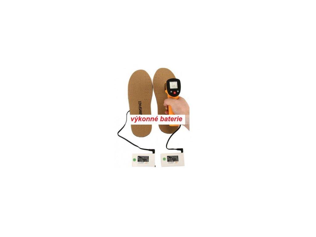 Vyhřívané vložky do bot ILWY WS 3800mAh