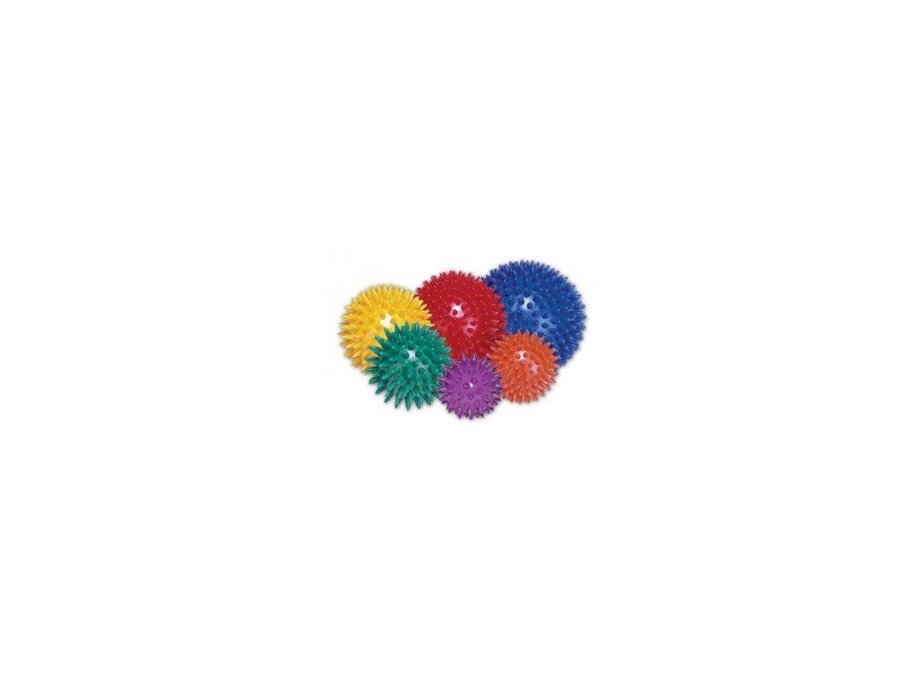 Míček masážní ježek 7 cm
