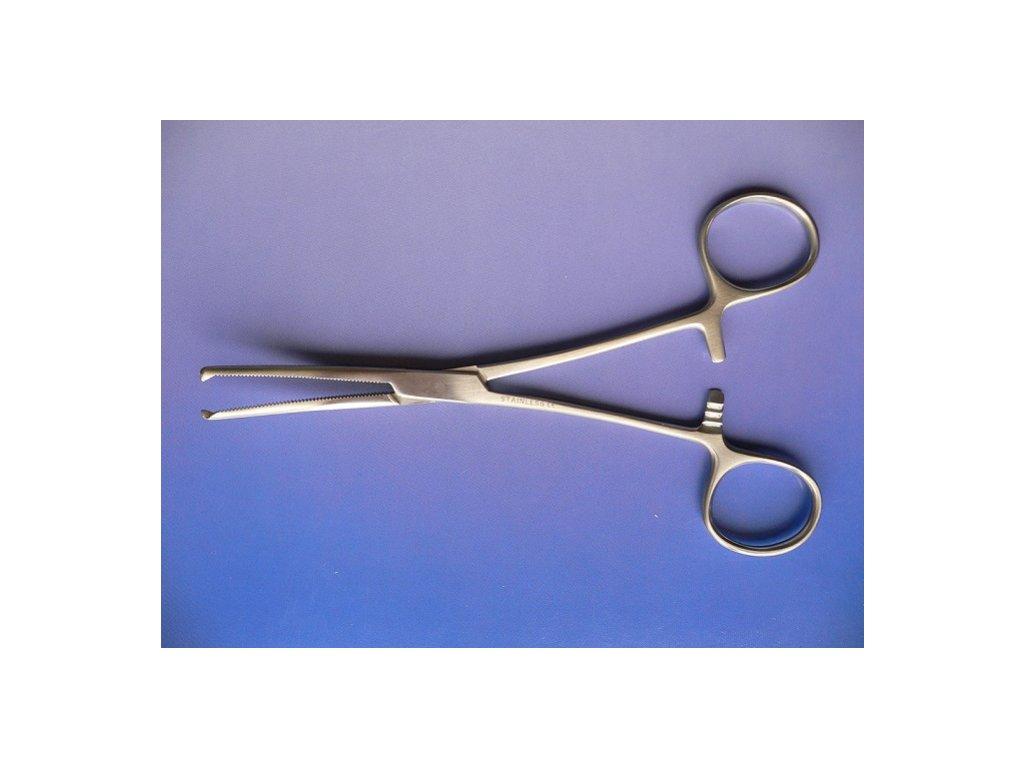 svorka chirurgicka zahnuta kocher original