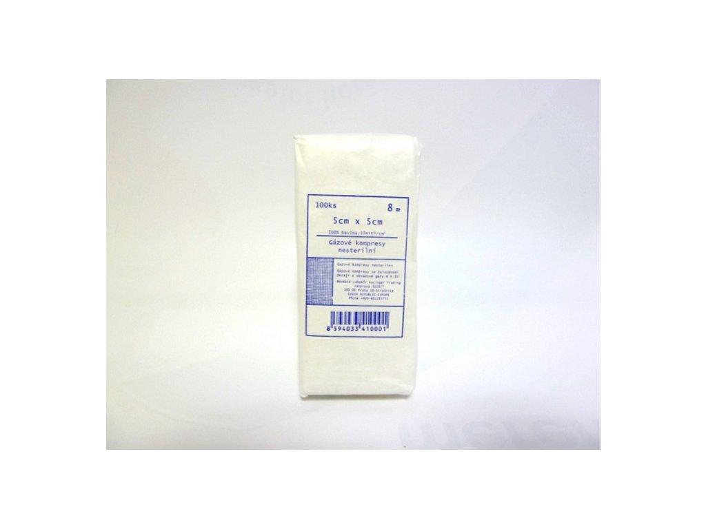 kompresy nesterilni gazove ze 100 bavlny 8 vrstev original