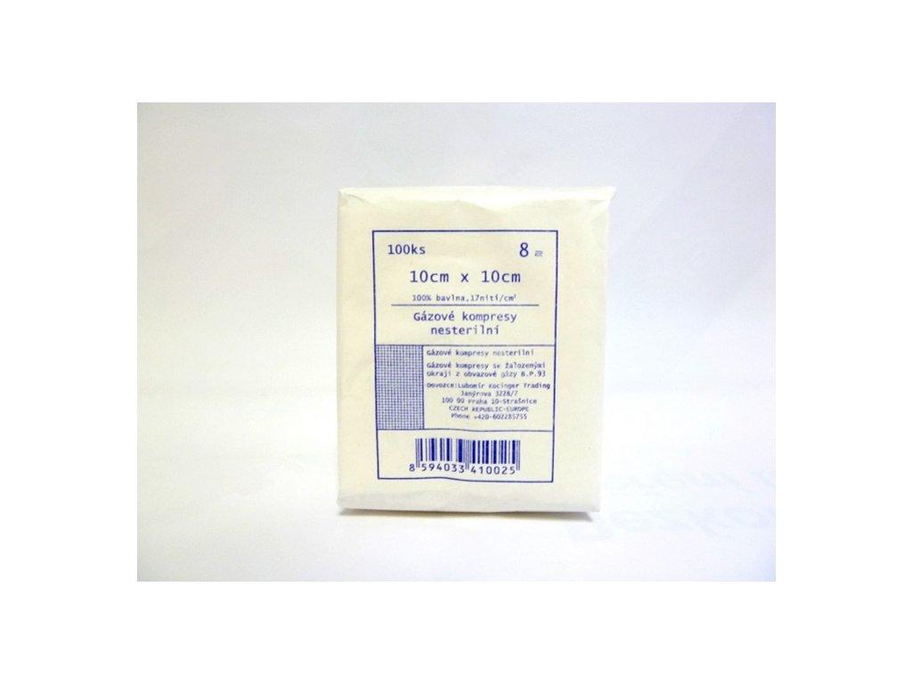 kompresy nesterilni gazove ze 100 bavlny 8 vrstev original (2)