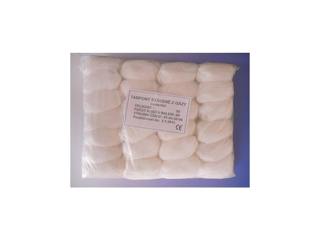 tampony rucne stacene z gazy ze 100 bavlny original