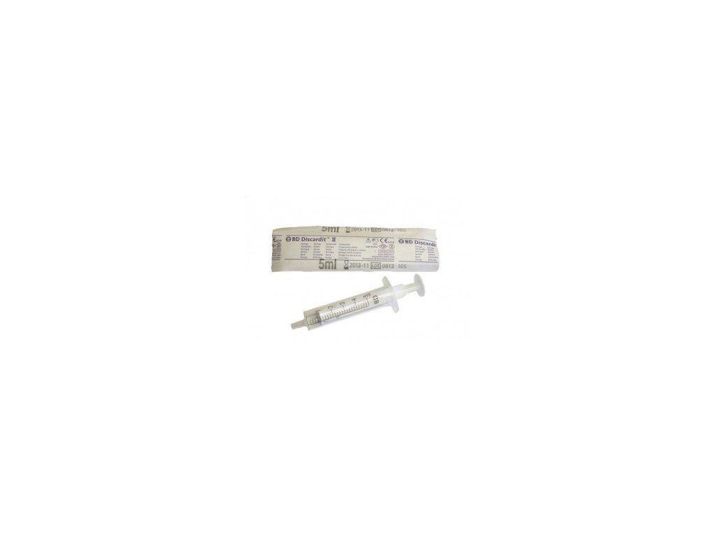 Injekční stříkačka BD 5ml / 100ks