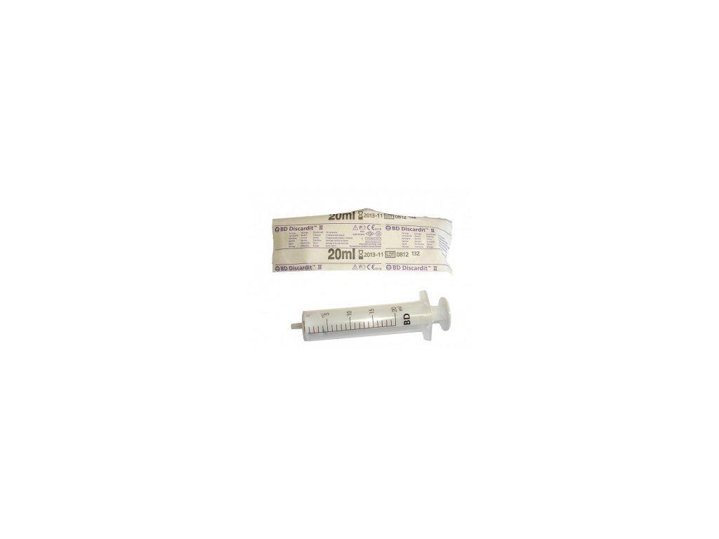 Injekční stříkačka BD 20ml / 80ks