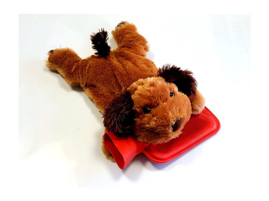termofor detsky pes svetle hnedy original
