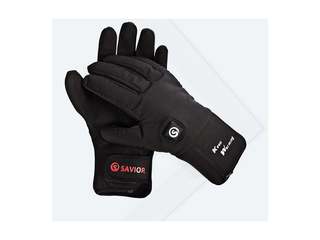 3192 vyhrivane sportovni rukavice savior 7 4v 4400mah