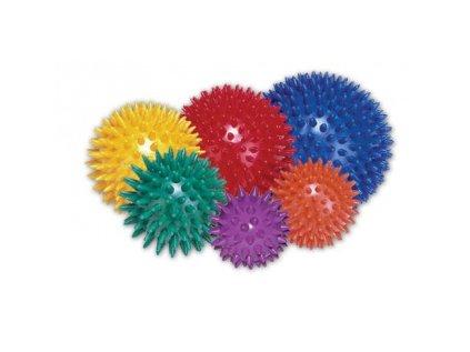 Míček masážní ježek 9 cm