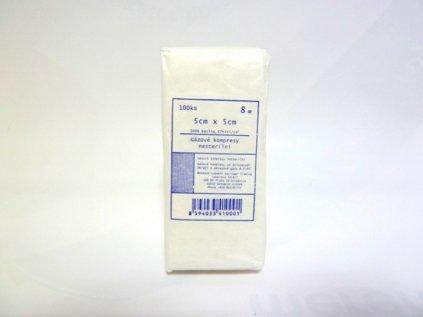 Kompresy nesterilní gázové ze 100% bavlny 8 vrstev