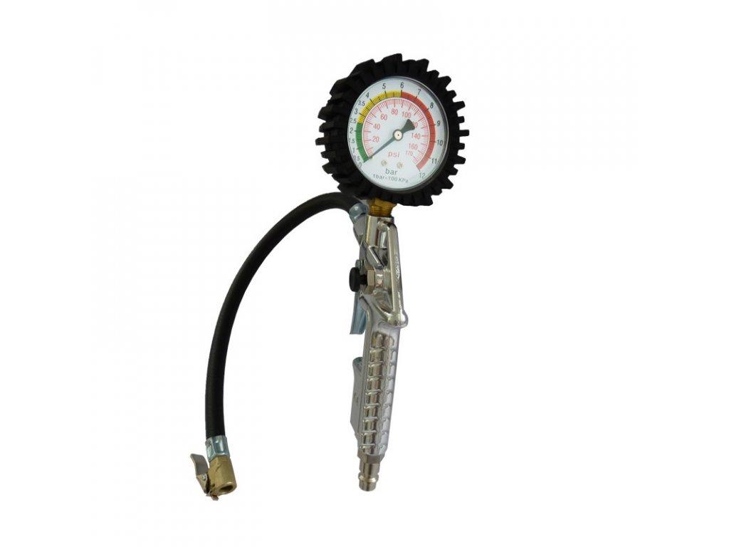Plnič pneu s manometrem F-10.06